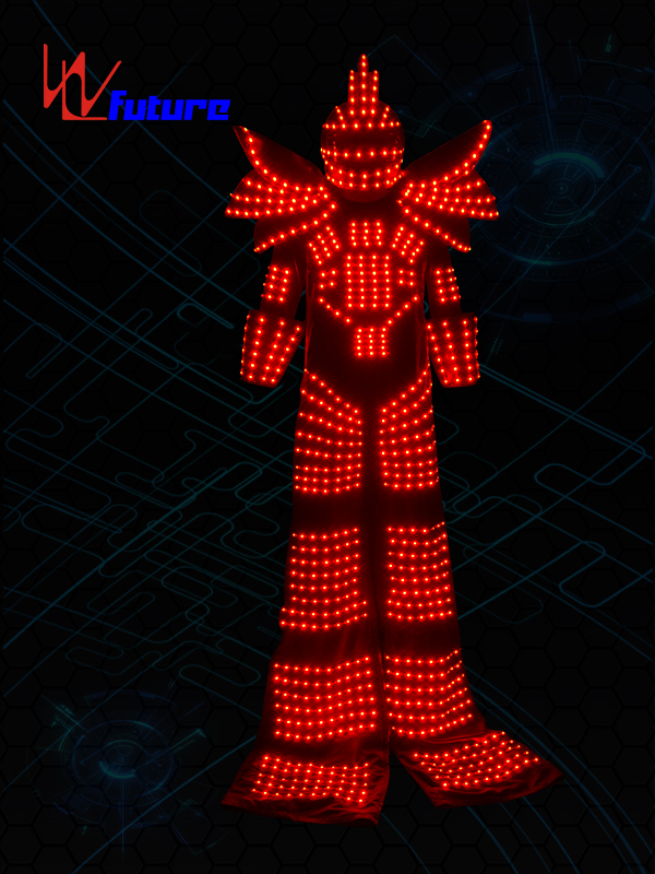 Leading Manufacturer for Led Suit Jacket - Professional China Led Lighting Robot Suit Multi Color Luminous Armor With Gloves Glasses – Future Creative