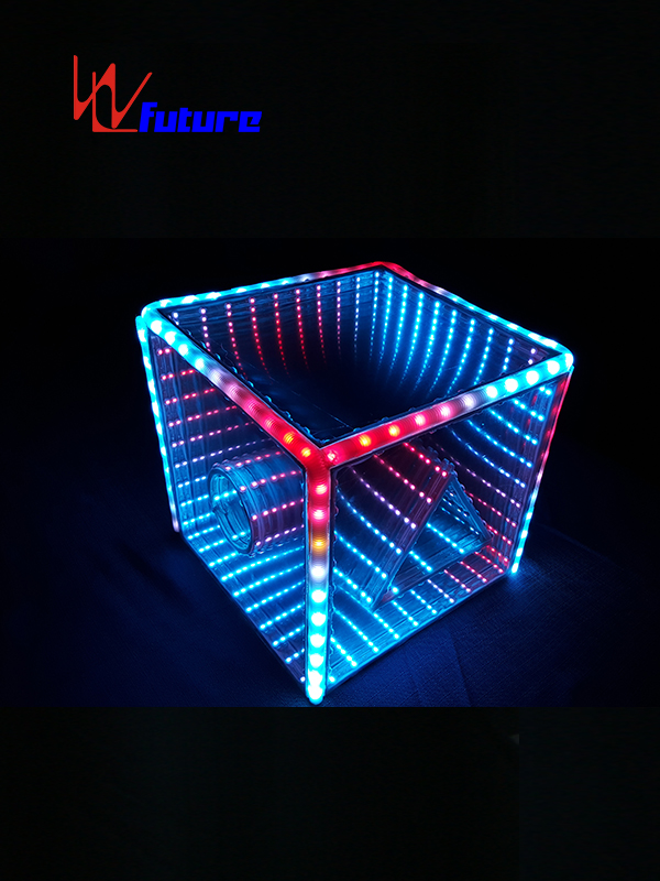 OEM Manufacturer Led Lights On Costumes - Amazing LED Cube 3D Props For Dance Show WL-0136 – Future Creative