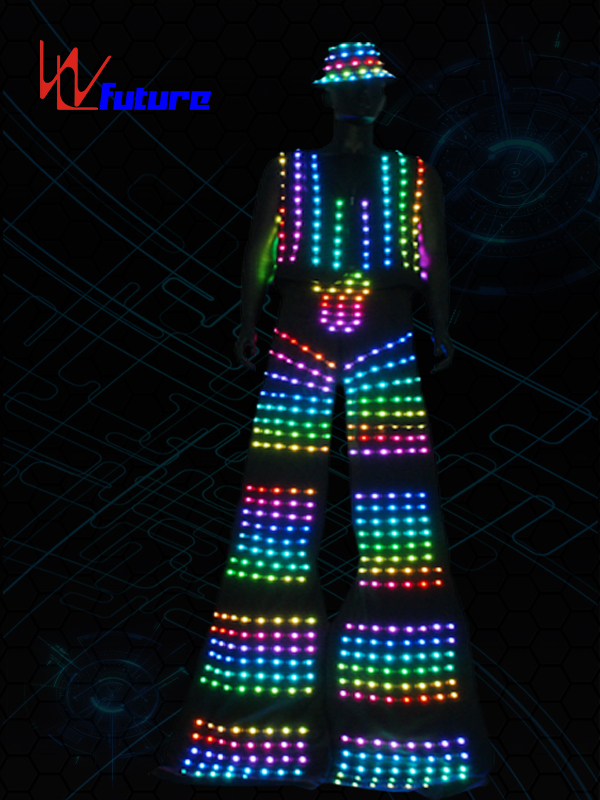 High reputation Led Light Costume Sexy - Stilts Walker Led Suit Costume for Dance Show WL-0248 – Future Creative