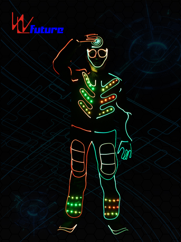 Wholesale Discount Discoball Dress - Tron dance costumes,led halloween costumes for men WL-0149 – Future Creative