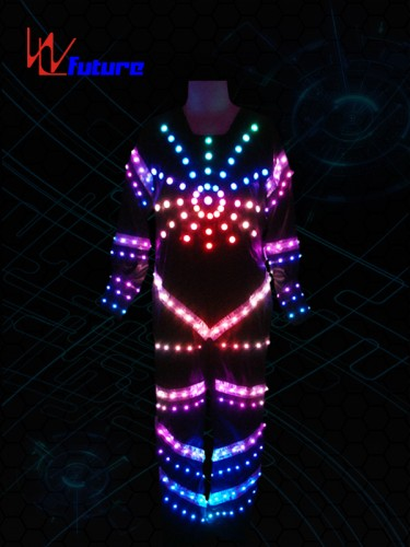 Tron Dance Costume with LED Strips WL-015