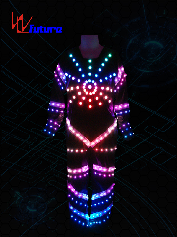 PriceList for Glowing Costumes - Tron Dance Costume with LED Strips WL-015 – Future Creative Featured Image