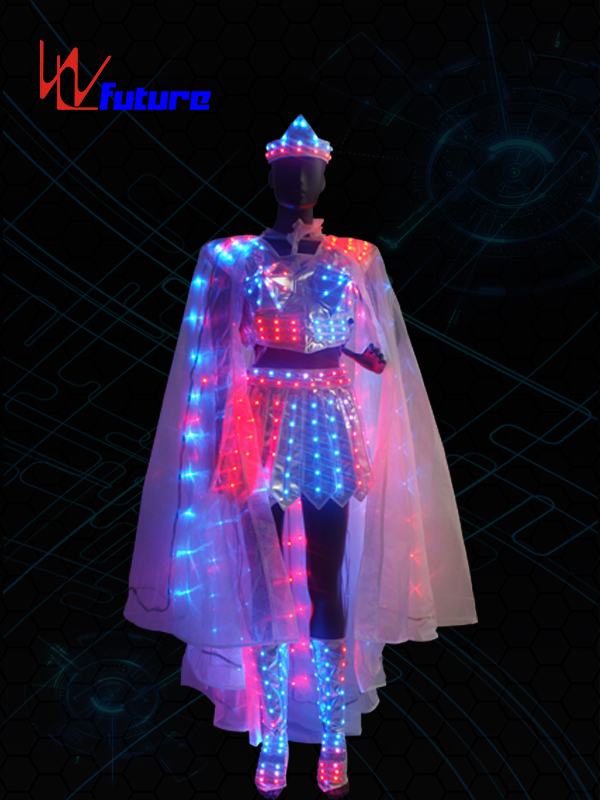 China Supplier Led Suit Jacket - LED Light Dance Costumes,LED Fairy Clothing with Shoes WL-0153 – Future Creative