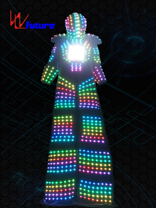 Factory selling Adult Led Costumes - LED Stilts Walker Robot Costumes,LED Robot Suit WL-0157 – Future Creative
