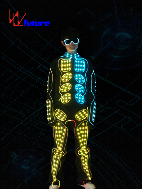 Leading Manufacturer for Fashionable Led Costumes - Wireless Controlled Waterproof Jet Pack Rocketman LED Suit Cosutme WL-0163 – Future Creative
