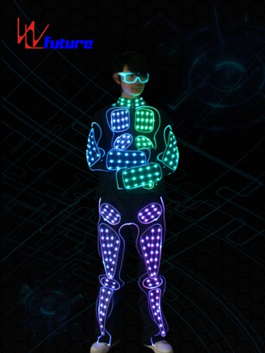 Wireless Controlled Waterproof Jet Pack Rocketman LED Suit Cosutme WL-0163