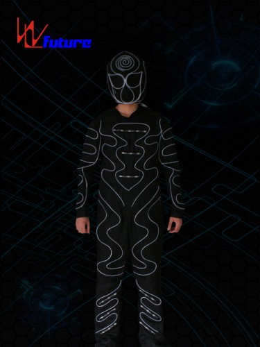 LED & Fiber Optic Tron Dance Costumes With Mask WL-0178