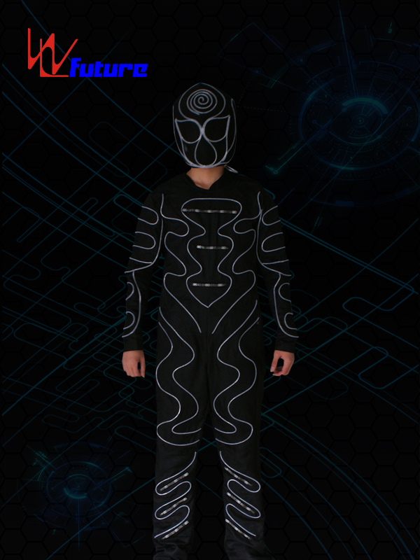 Factory wholesale Costumes That Light Up - LED & Fiber optic Jumpusit With Mask WL-0178 – Future Creative