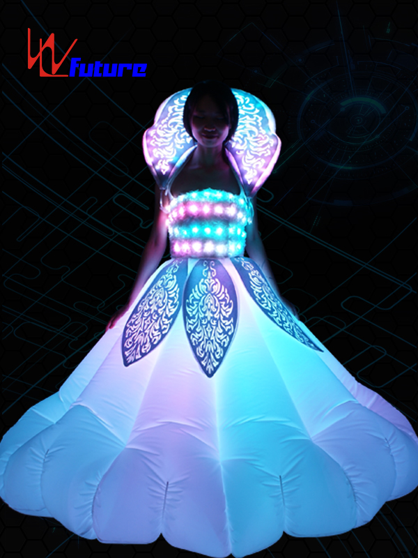 Custom Inflatable LED Dance Costumes, Light Up Rave Dress WL-0179 Featured Image