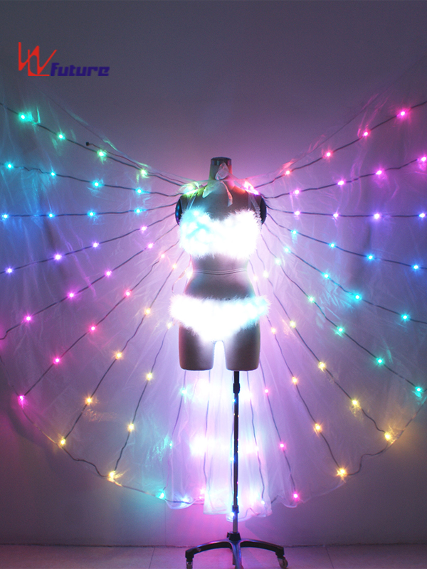Sexy LED light up bra and panty with LED Wings for Dance Performance WL-0186 Featured Image