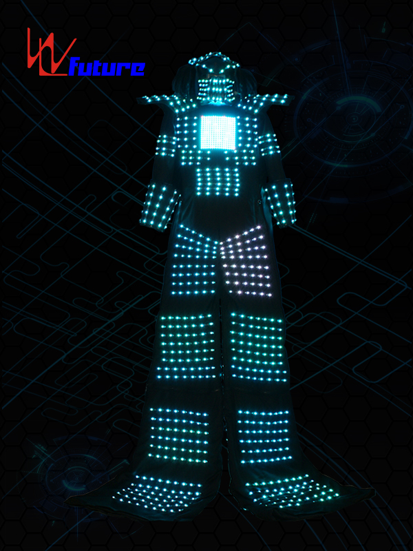 Cheap price Led Costumes Bear - LED stilts walker robot costume for men WL-0211 – Future Creative