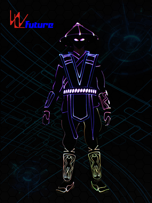 Free sample for High Power Mobile Bank - Tron dance costumes,wireless controller led clothing WL-0233 – Future Creative