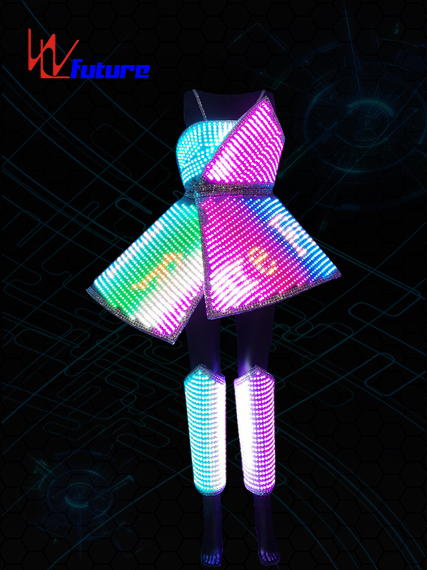 OEM Supply Led Lights On Costumes - Smart LED Pixel Costume for performance WL-0225 – Future Creative
