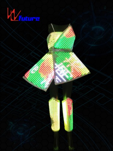 Future Smart LED Pixel Dress Costumes For Performance Wear WL-0225