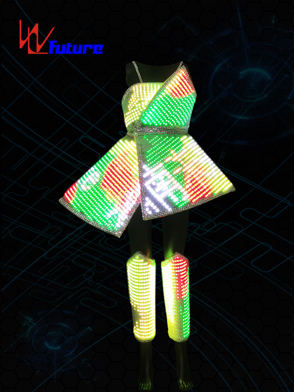 PriceList for Hip Hop Performance Costume - One of Hottest for Led Suit Dj Costumes Clothes Led Lights Luminous Stage Dance Performance Show Dress For Night Club – Future Creative