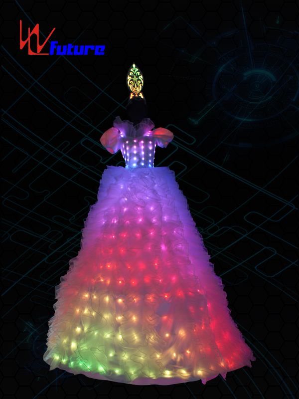 Super Lowest Price Performance Wear - LED Stilts Dress Costume For Women,LED Circus Clothing WL-022A – Future Creative Featured Image