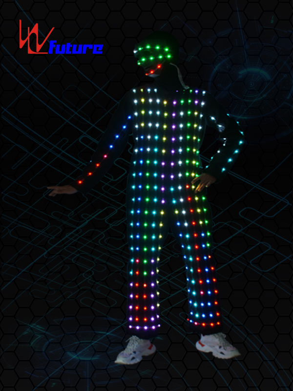 OEM China Flashing Led Lights For Costumes - Programmable Performance Wear LED Pixel Cosutmes WL-0232 – Future Creative