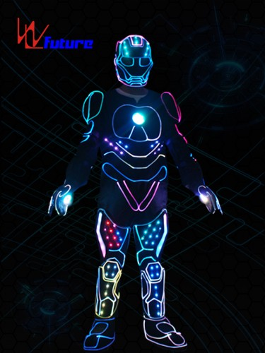 WL Future High Quality LED Tron Dance Suit Iron Man Lights Costumes WL-0239