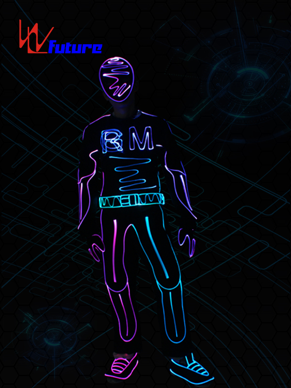 Future Led Tron Suit Hip Hop Dance costumes WL-0244 Featured Image
