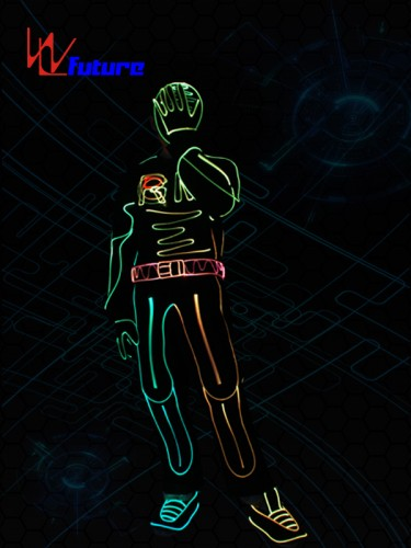 Future Led Tron Suit Hip Hop Dance costumes WL-0244