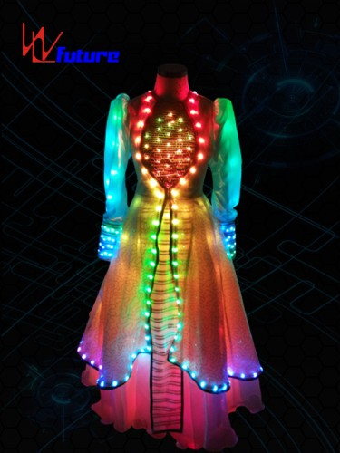 Aladdin LED Lights Up Evening Dress WL-032