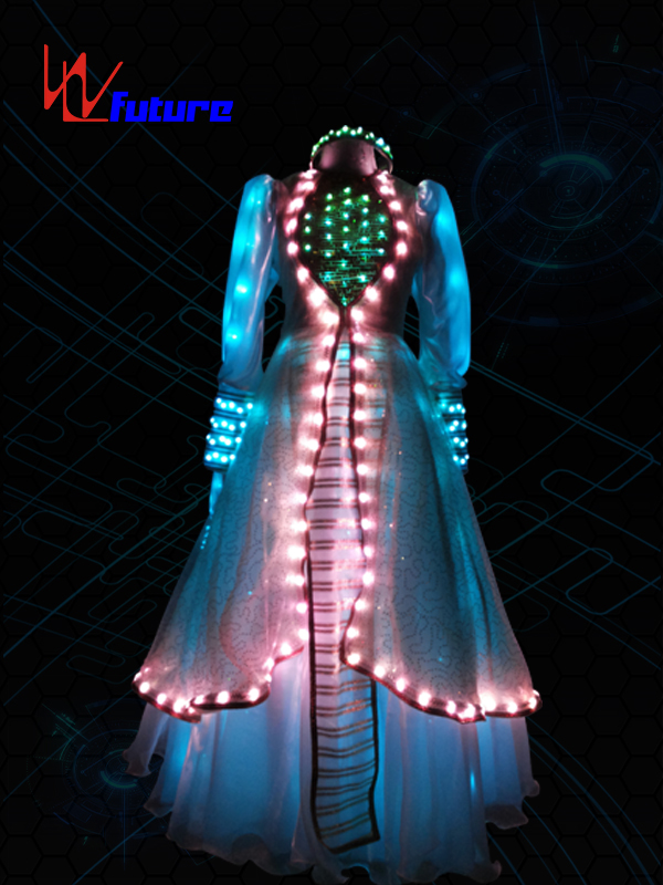 Aladdin LED Lights Up Evening Dress WL-032 Featured Image