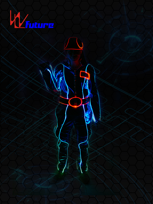 OEM China Tron Led Costume - High reputation Led Lighting Jacket/clothing/wear,Led Light Dance Performance Costumes – Future Creative