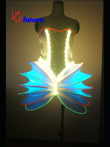 New Ideas LED Light Up Dress Costume For Dance Show WL-08