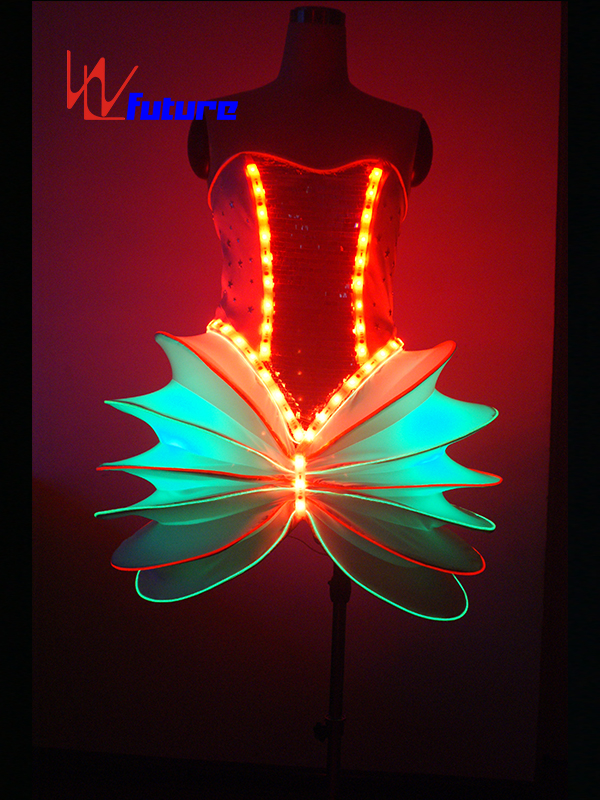 New Ideas LED Light Up Dress Costume For Dance Show WL-08 Featured Image