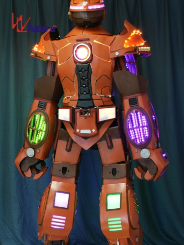 Future High Quality Stilts Walker LED Robot Suit Costumes WL-01000