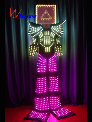 High Quality Stilts Walkers' LED Robot Suit Costume WL-0130