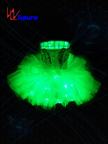 Beautiful Sexy LED Short Dress Ballet Tutu for Young Girls WL-0143