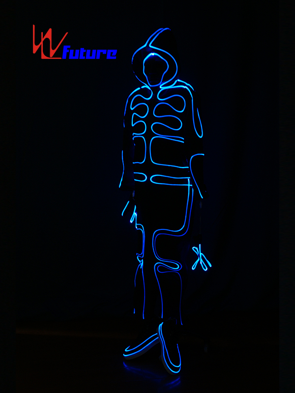 Europe style for Glow Suit Dance - Full Color Optic Fiber Light Up Costumes For Show WL-0150 – Future Creative