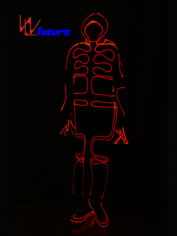 Europe style for Glow Suit Dance - Full Color Optic Fiber Light Up Costumes For Show WL-0150 – Future Creative Featured Image