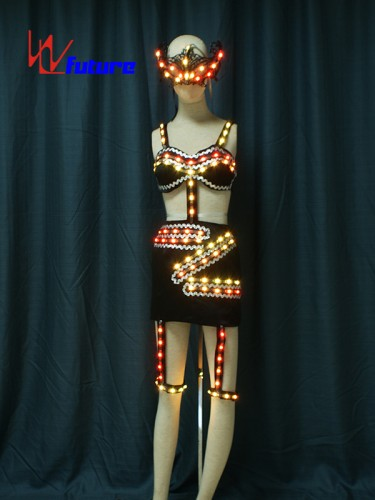 Nightclub Sexy LED Light Up Stripper Clothes WL-0188