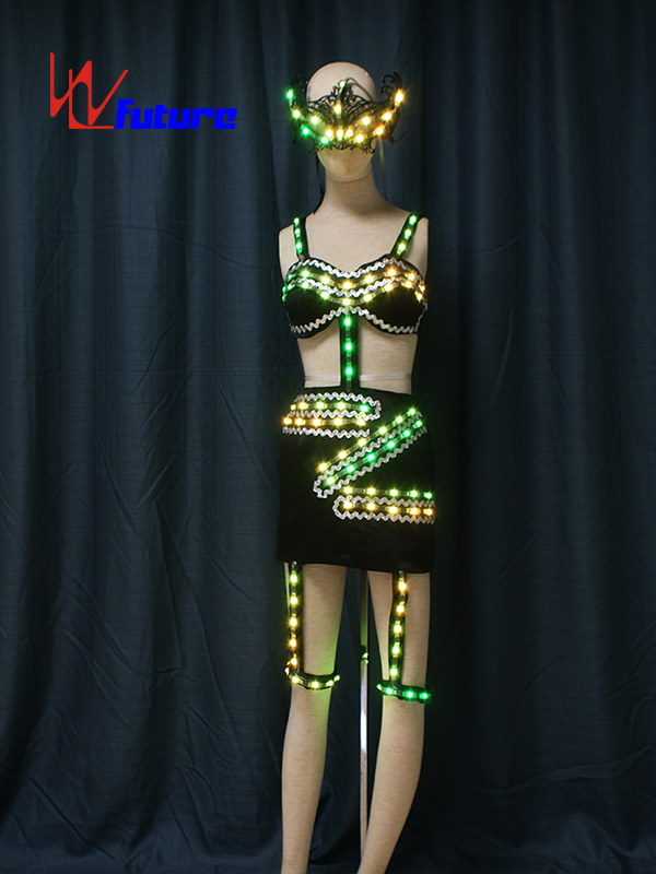Nightclub Sexy LED Light Up Stripper Clothes WL-0188 Featured Image