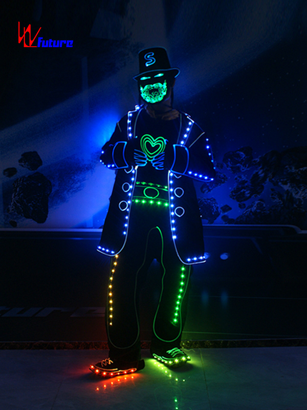 Bottom price Light Up Suit Costume - New style Got talent show LED bearded man costume WL-0195A – Future Creative