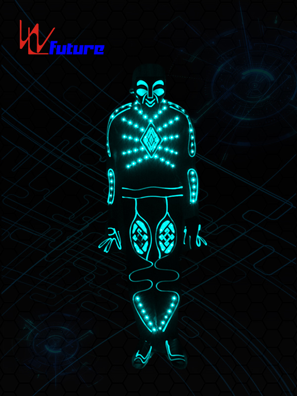 Factory Cheap Hot Wireless Controller For Clothes - Hot Sale for Luminous Costumes EL Suits Illuminated Glowing Strip Dance Fashion Talent Show LED Light Clothing – Future Creative