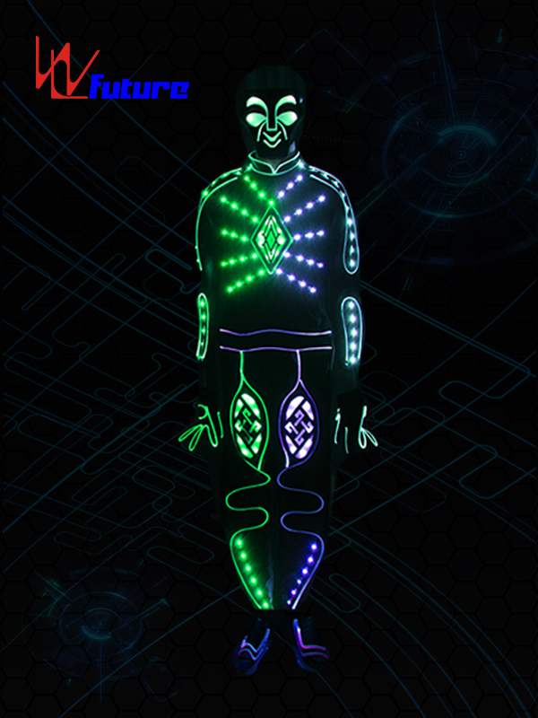 Manufacturing Companies for Led Clothing - Quality Inspection for 2020 New EL wire Suits Fashion LED Clothes Luminous Costumes Glowing Gloves Shoes Light Clothing Men Clothe Dance wear – Fut...