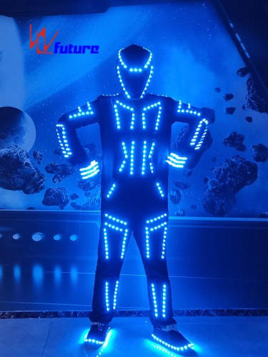 WL Future High Quality LED Tron Dance Costumes Light Up Suit WL-0247