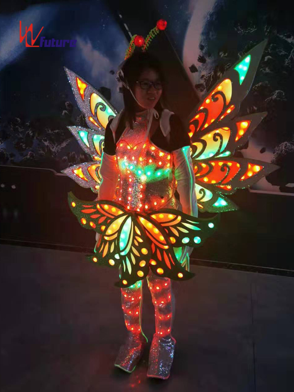 Super Purchasing for Led Robot Suit - Future Creative Butterfly LED Dance Costumes Wings,Fairy Clothing WL-0256 – Future Creative