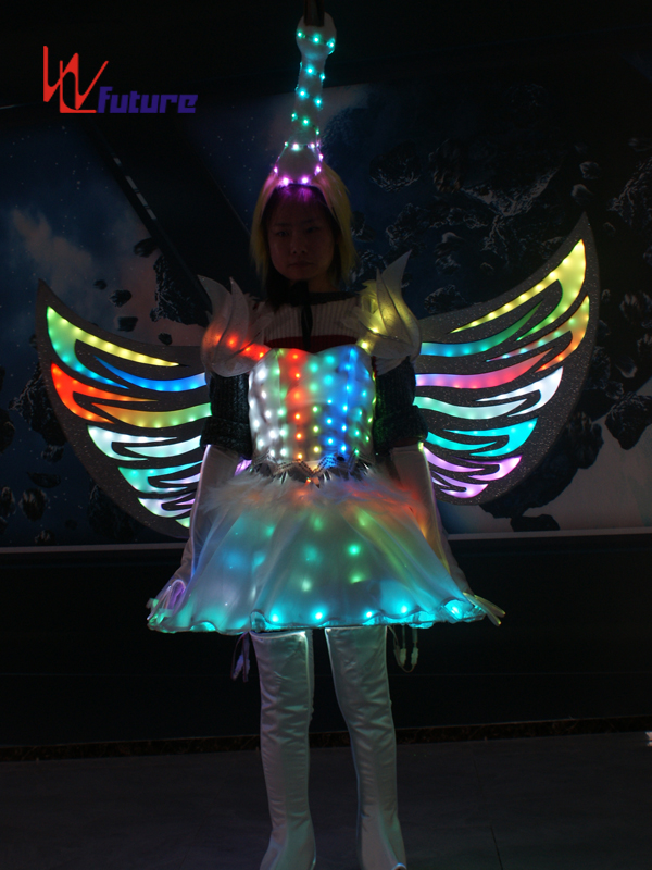 Short Lead Time for Dress Led Wedding - Future Creative LED Dance Costumes Wings,Fairy Dress Clothes for Show WL-0257 – Future Creative