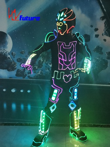 Future LED & Fiber Optic Suit Dance Costumes For Performance WL-0265