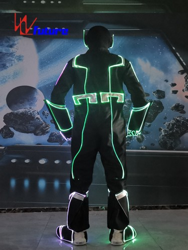 Future Glow In The Dark Suit Halloween Party Costume WL-0267