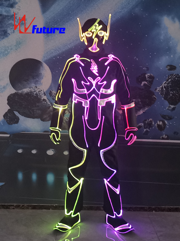 Future Glow In The Dark Suit Halloween Party Costume WL-0267 Featured Image