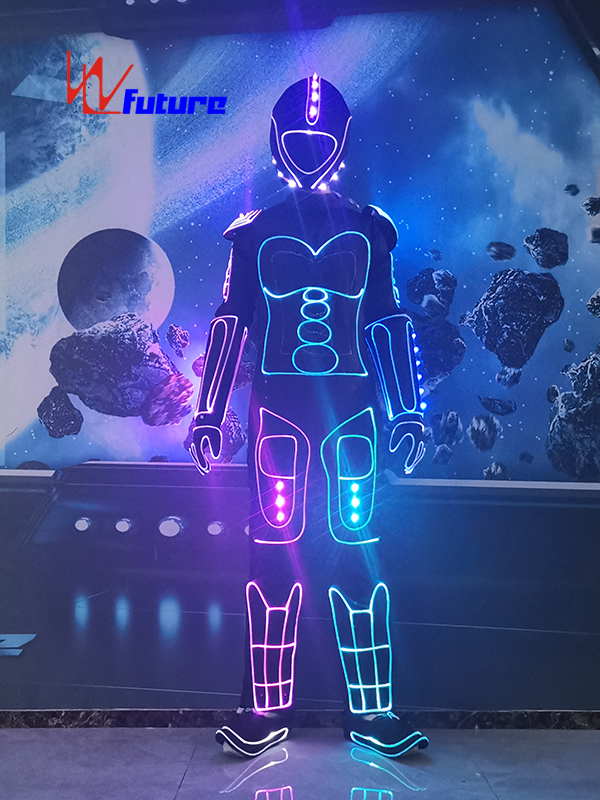 Future Technology LED & Fiber Optic Suit Dance Robot Costumes WL-0265 Featured Image