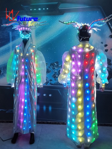 Circus LED Light Magic Ball Octopus Shaped Costume With Hat WL-0275