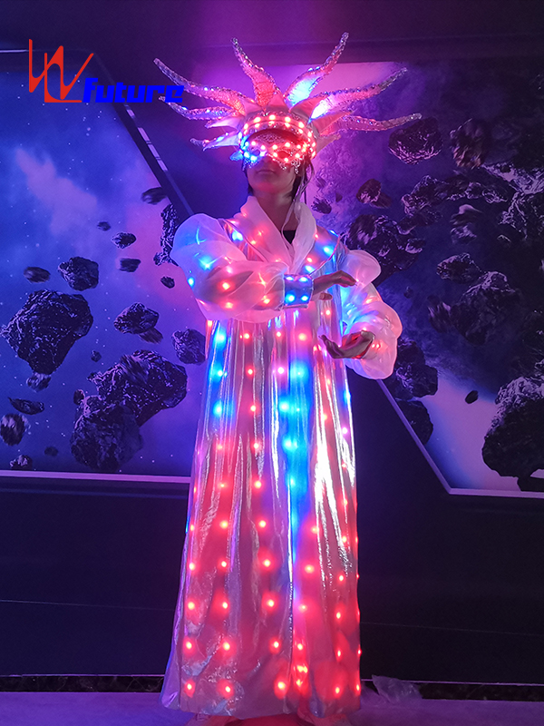 Circus LED Light Magic Ball Octopus Shaped Costume With Hat WL-0275 Featured Image