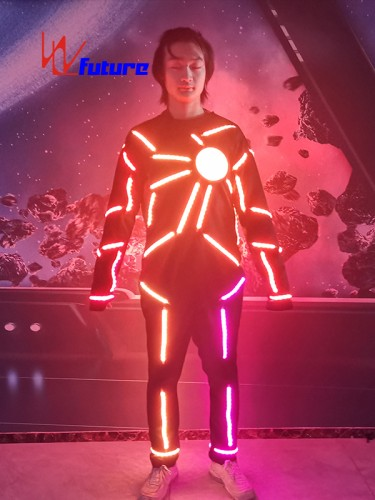 Future Programing LED Lights Suit Costumes For Dance Show WL-0277