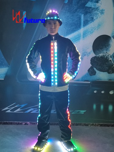 LED light up MJ jacket with hat,gloves,shoes WL-060